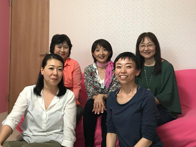 初参加の古川さん(左上)と須山さん(右上)と一緒に!